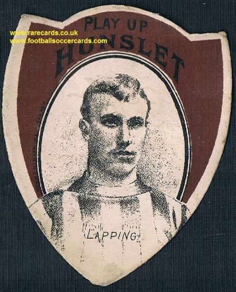 1880s Hunslet RLFC Lapping inset Baines Litho Pears Soap card